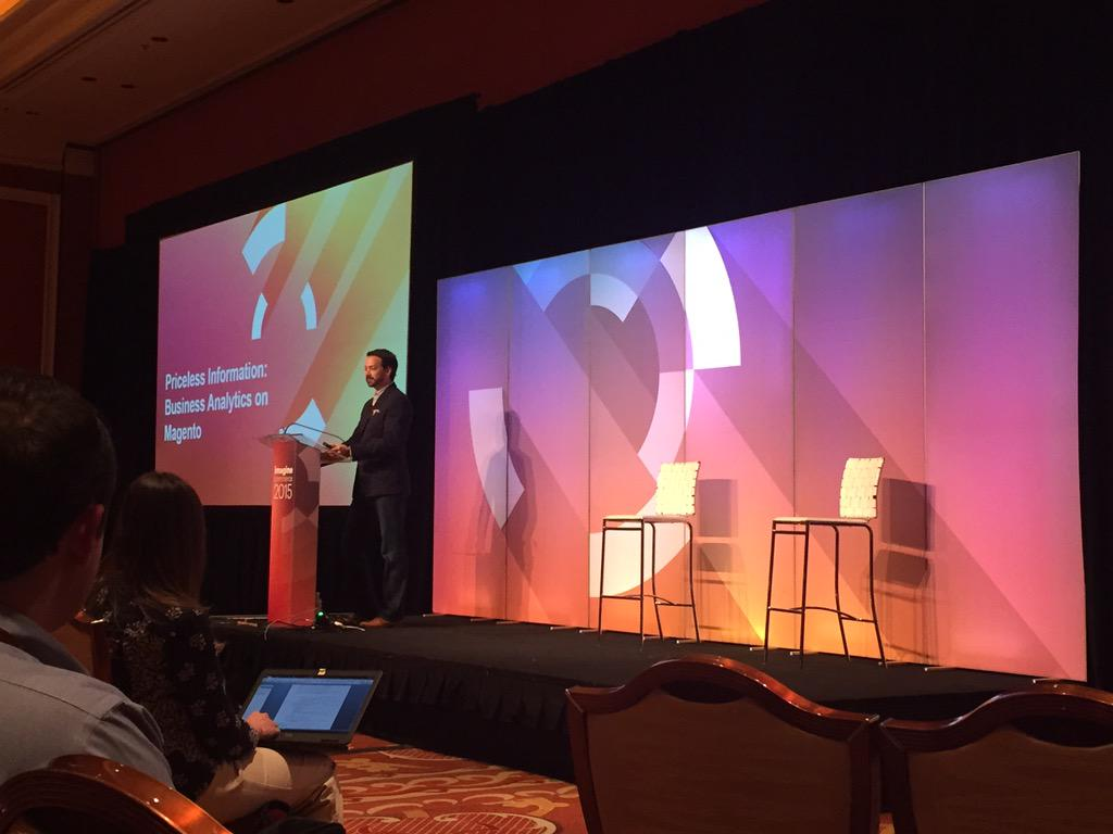 gelizabeths: Number crunching: dissecting eCommerce ROI with our own @kpe as moderator #imaginecommerce #analytics http://t.co/08ReMNogAN
