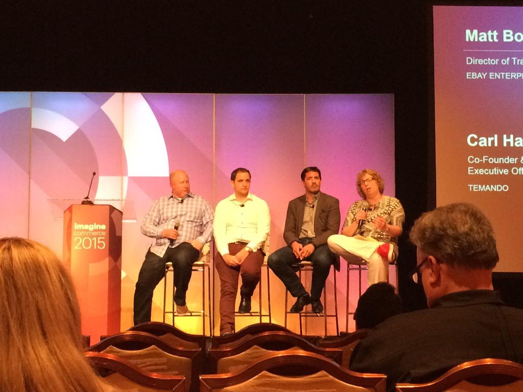 ShipperHQ: Global shipping panel discussion at #ImagineCommerce with Karen Baker of @WebShopApps http://t.co/F7hzTsmlN4