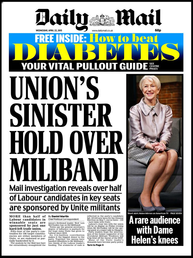 """""""EXCLUSIVE: PARTY FOUNDED BY UNIONS HAS CONNECTIONS WITH UNIONS"""" http://t.co/bVx42lz9AU"""