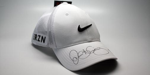 A tip of the cap to you...  RETWEET for your shot at this @McIlroyRory signed @nikegolf Tour Legacy Mesh hat! http://t.co/Kd4g0wERW0
