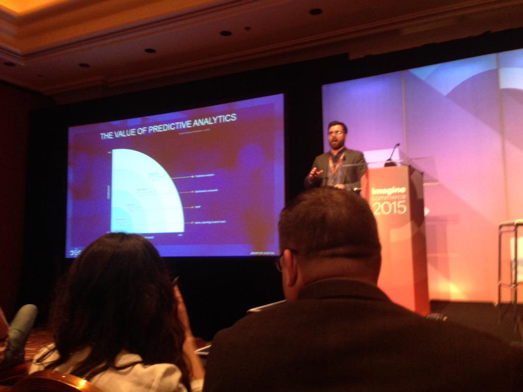 SheroDesigns: Value of predicting analytics @HarryTedderKing #customer #segmentation #ImagineCommerce http://t.co/EwPadHCehk