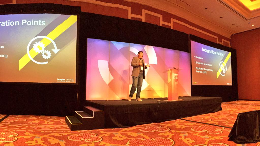 benmarks: One of the original authors of Magento, @dmitriysoroka of @OroCRM is now presenting Magento API #ImagineCommerce http://t.co/PnzGaLzKCq