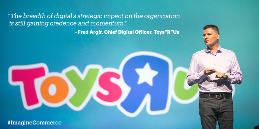 eBayEnterprise: So proud to have had @ToysRUs join us on the main stage during our keynote session earlier today #ImagineCommerce http://t.co/Y7lt9uMA9I