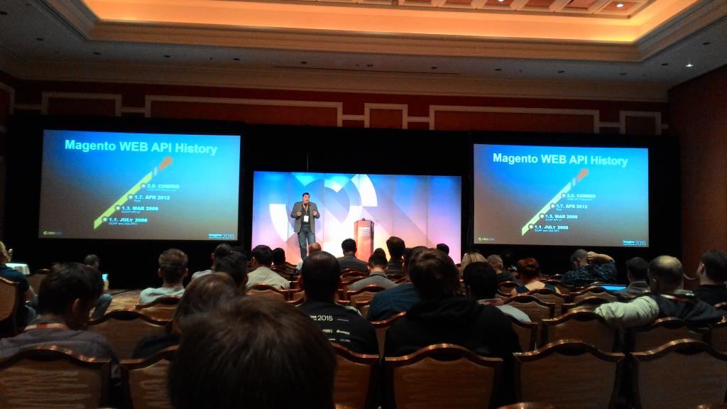 sergey_lysak: @dmitriysoroka from @OroCRM is on stage at #ImagineCommerce http://t.co/dxTm0nGBHk