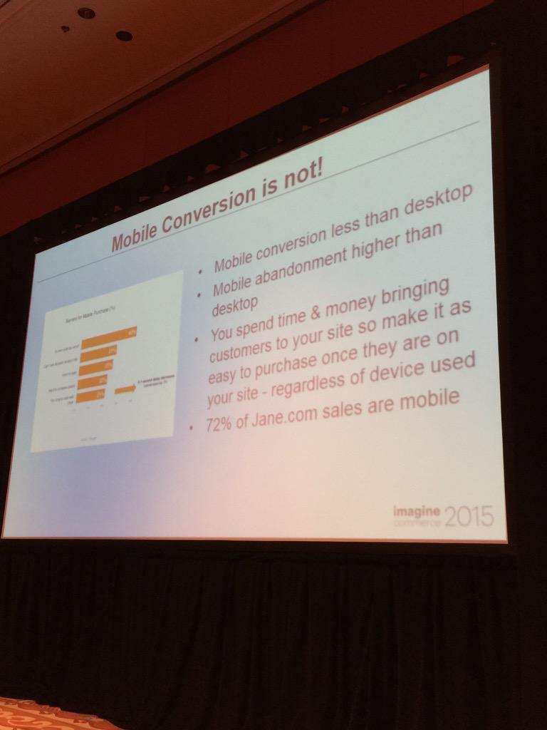 alexanderpeh: But #mobile conversion is not! #ImagineCommerce @PayPal @braintree #mCommerce #payments http://t.co/opqjReNcFf