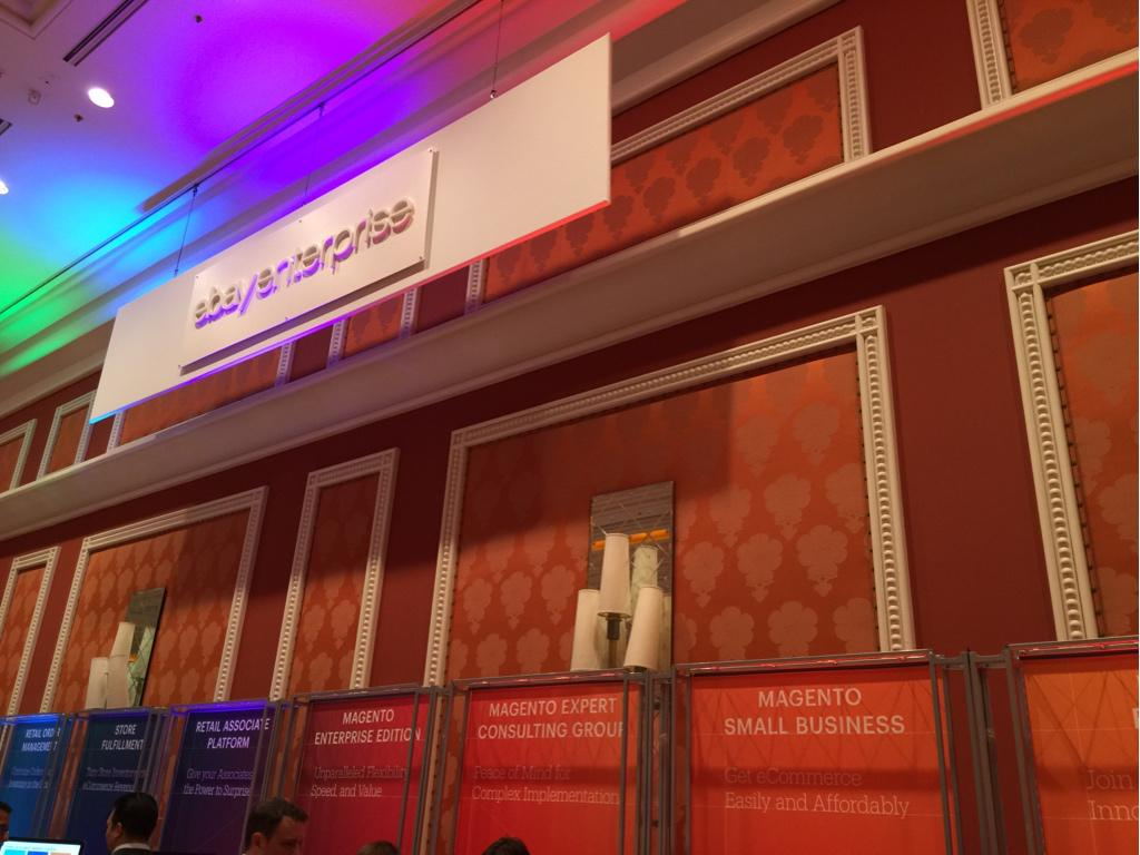 JoshuaSWarren: Hanging out at the Magento Small Business booth until 3:30 - come say hi! #ImagineCommerce #realmagento http://t.co/YzO2hjovuC