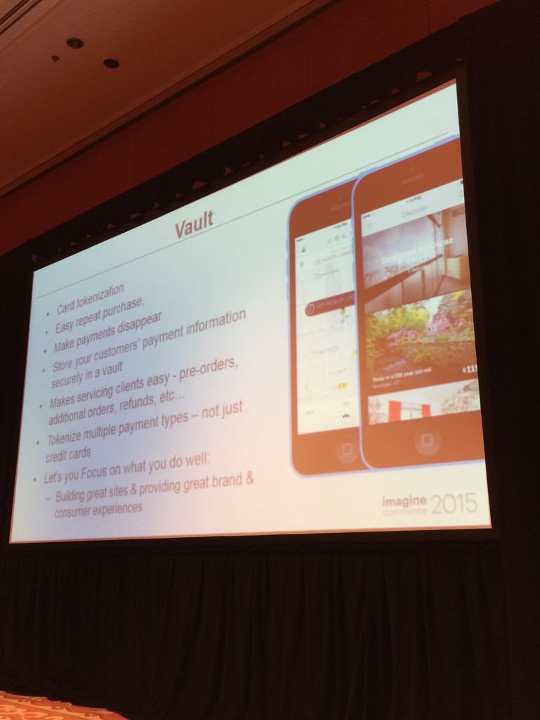 alexanderpeh: Vault & some of its benefits, especial on #mobile @braintree & @PayPal #ImagineCommerce http://t.co/dxkkTRGY8w