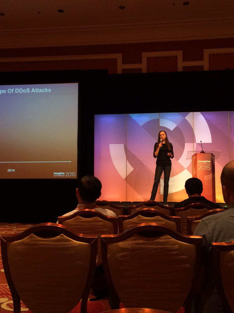 DCKAP: thank you @MariaKar. it was a wonderful eye opener for securing our website #ImagineCommerce http://t.co/BNAUxlyb4D