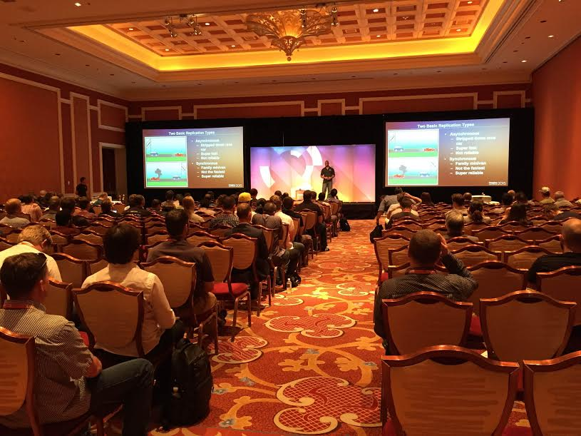 nexcess: Nexcess SysAdmin Eugene knows how to fill a room :) #ImagineCommerce #Magento #Percona http://t.co/XMYRalPr6n
