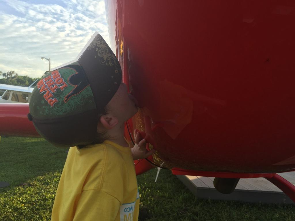 My son's first score is an Extra 330LX. I couldn't be more proud! #LickItAndYouGetToKeepIt #SnF15 http://t.co/1IoQ9Y5TS5