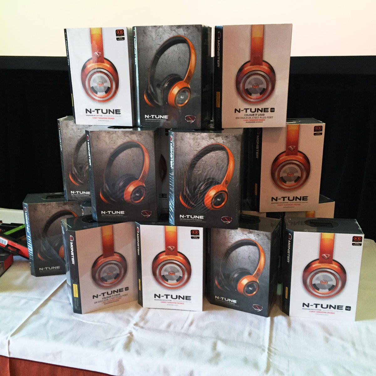 Wpromote: Thanks @MonsterProducts for helping us out with the best prizes ever! #ImagineCommerce http://t.co/Asavq2CLxx