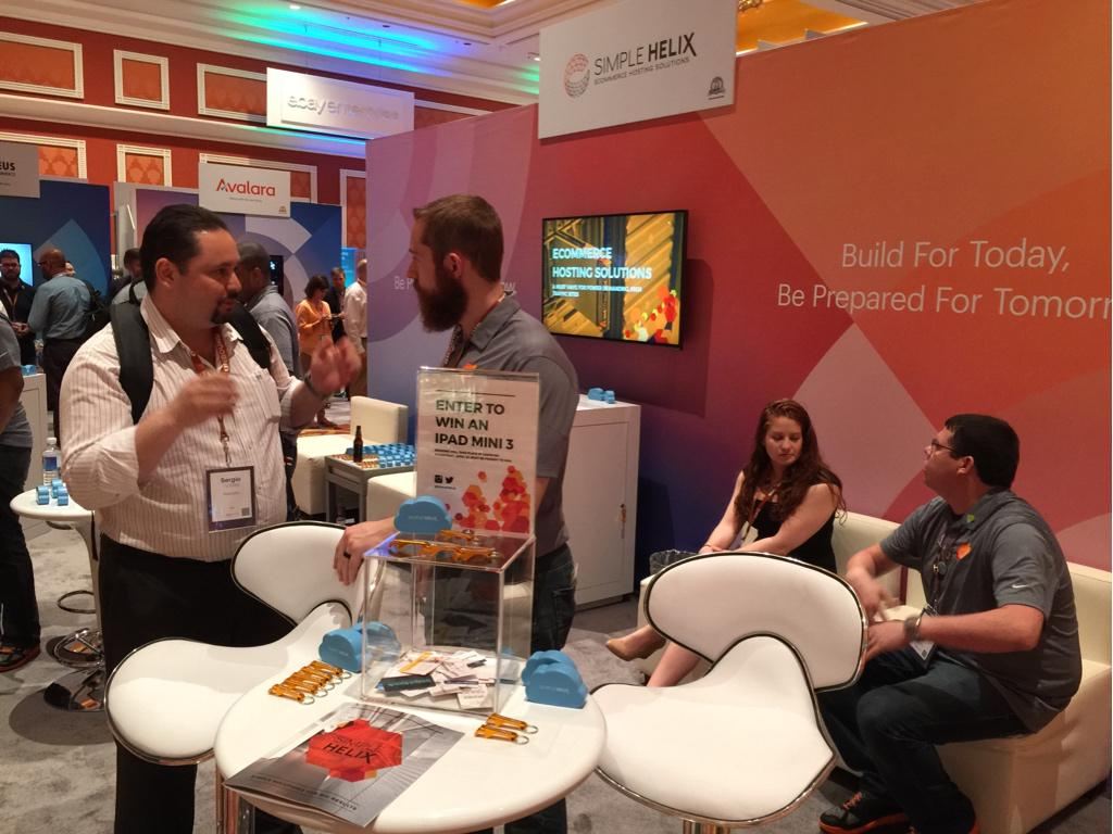 shickles: Don't forget to stop by the Simple Helix booth tomorrow and learn more about our hosting solutions. #ImagineCommerce http://t.co/SxYD6EjxG1