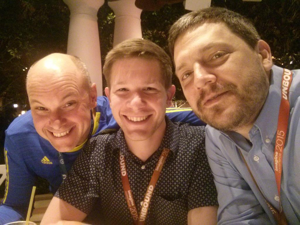 sherrierohde: Hanging out with these cool kids at the legendary party of awesome! #realmagento #imaginecommerce http://t.co/rovPjVC4X8