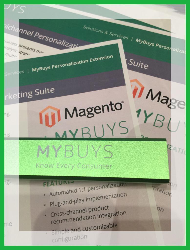 ImranVirk: @MyBuys @magento #mybuys #ImagineCommerce http://t.co/UthNwk4tE4
