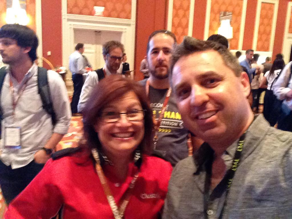 monocat: With @AnnetteMerriman at #ImagineCommerce #LiveFastCLX http://t.co/rwY4dKIFHJ