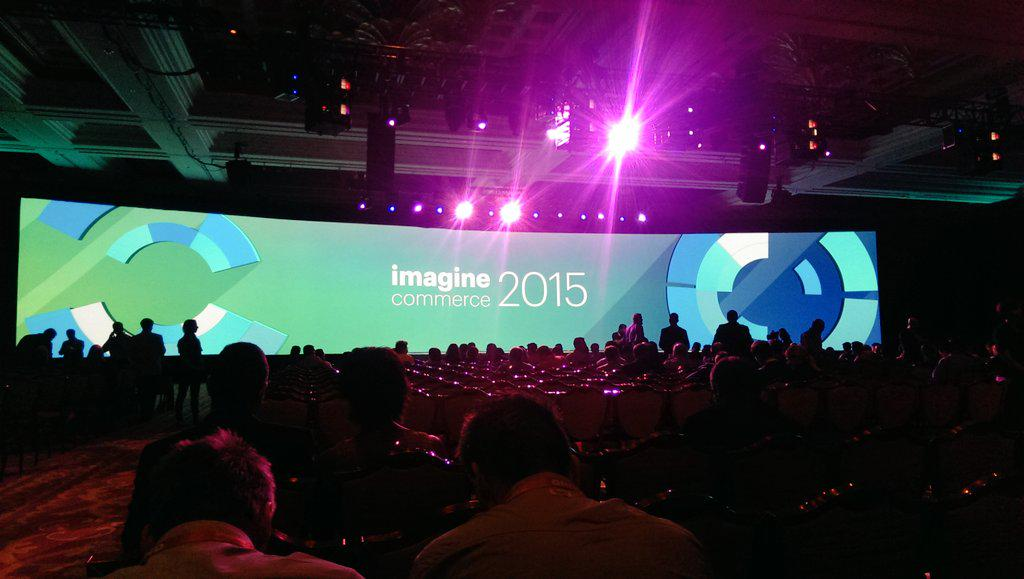 inspiratica: The #ImagineCommerce keynote is about to begin! http://t.co/ZiMqfUHHLx