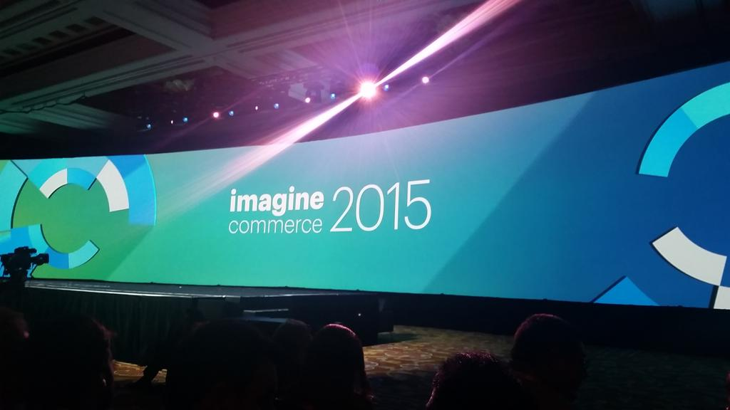 guido: Next up: Keynote 2 #ImagineCommerce http://t.co/behRIN38g4
