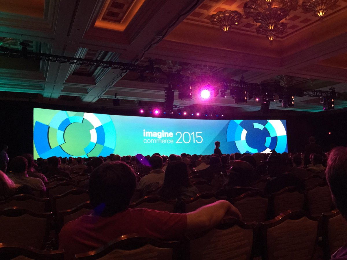 JoshuaSWarren: Getting ready for the evening keynote and awards ceremony at #ImagineCommerce http://t.co/jAXeZJKw04