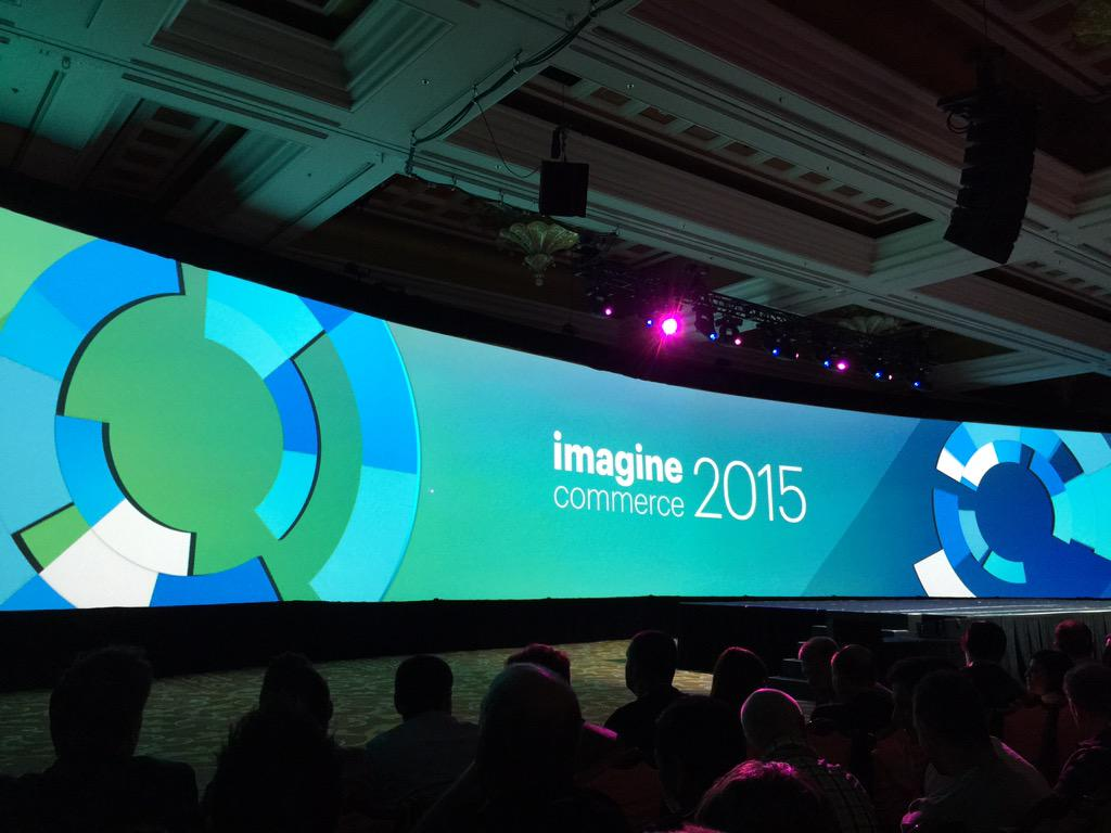 benmarks: Another great opening to #ImagineCommerce keynote! http://t.co/EPT2GshnlX