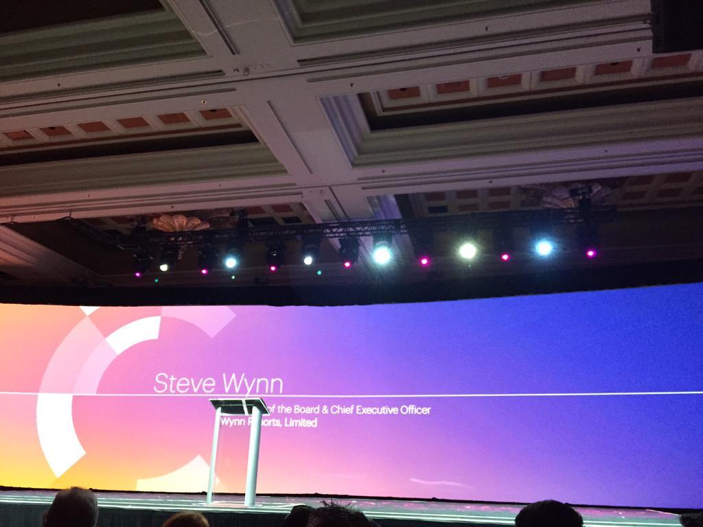 DCKAP: Keynote #ImagineCommerce @WynnLasVegas @SteveWynn_  excited to be listening. http://t.co/dNoOPR538M