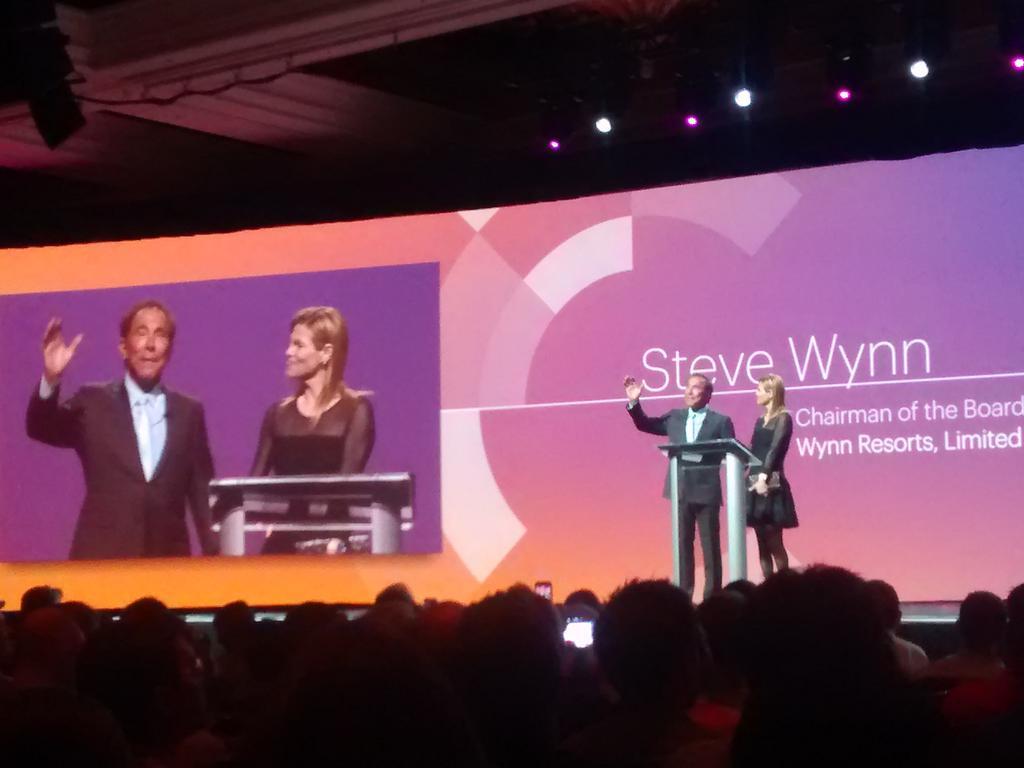 sandermangel: Steve Wynn on stage at #imagine2015 http://t.co/IKBYom30nJ