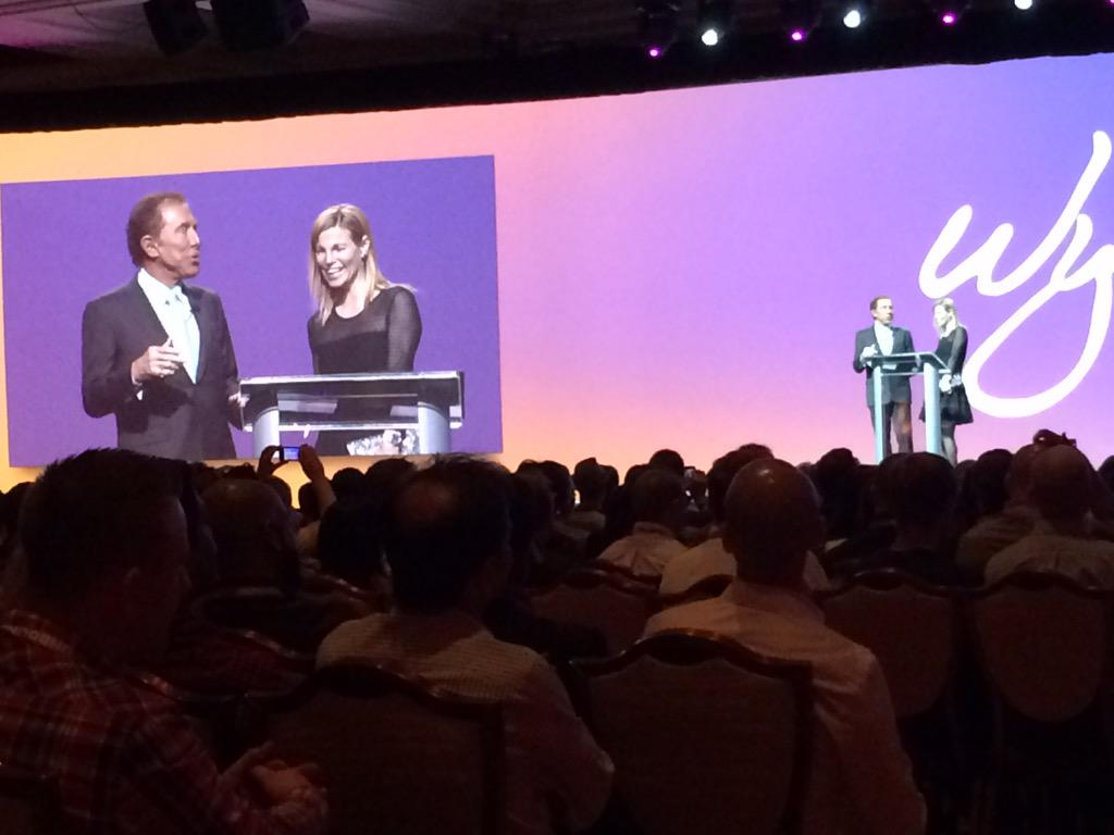 benjaminrobie: Steve Wynn and his wife at #MAGENTO Imagine. #ImagineCommerce http://t.co/9IkeViapZ4