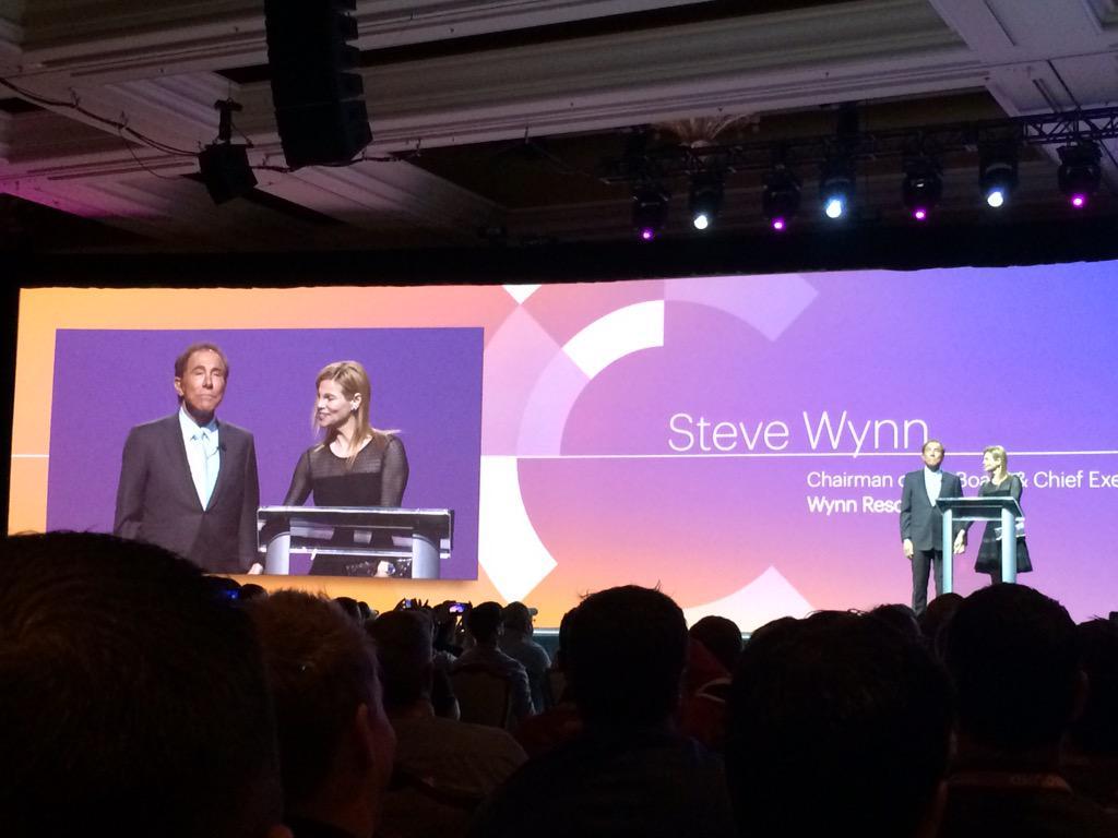mediawave_trend: Keynote II at #ImagineCommerce with Steve Wynn on Stage http://t.co/wOJbqigoeJ