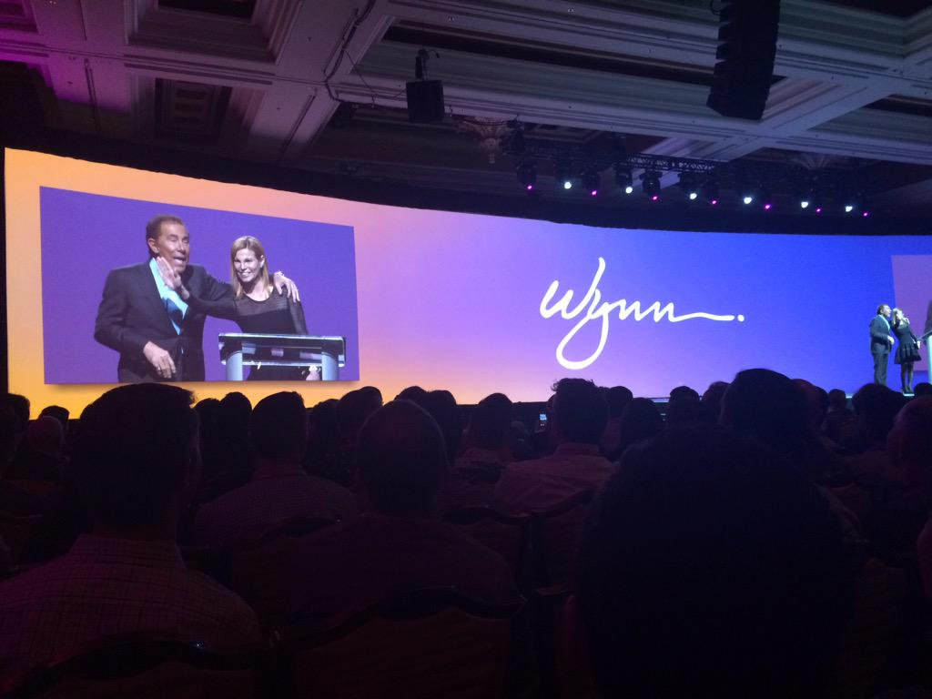 peter_sheldon: Steve Wynn keynoting at #MagentoImagine - the only thing that allows us to prosper is guest experience http://t.co/fhI6mTK0S1