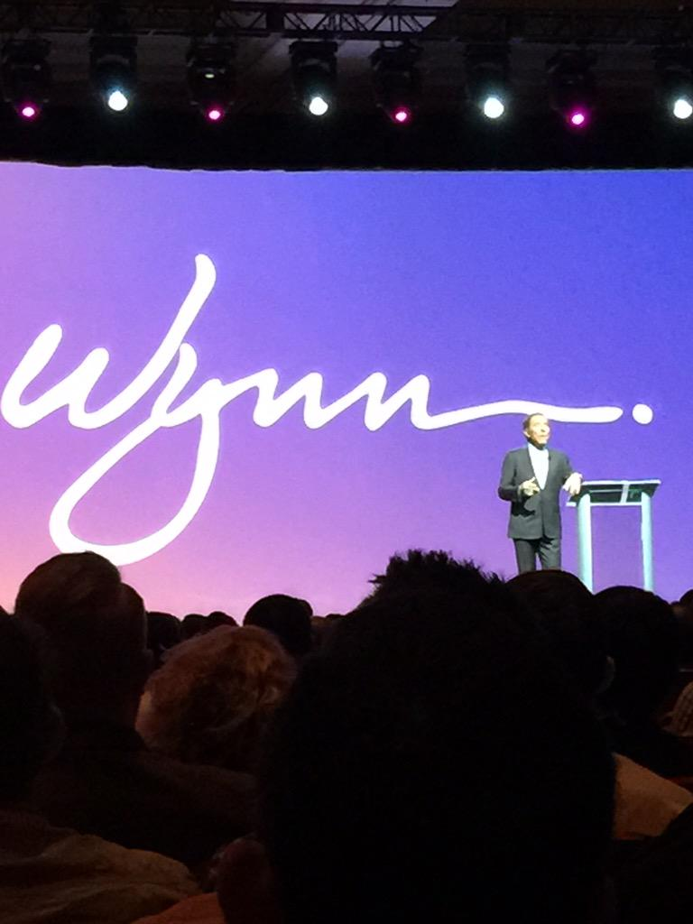 alexanderpeh: The one & only Steve Wynn live on stage at @magento #ImagineCommerce 2015 @WynnLasVegas http://t.co/SPBm6uwTNl