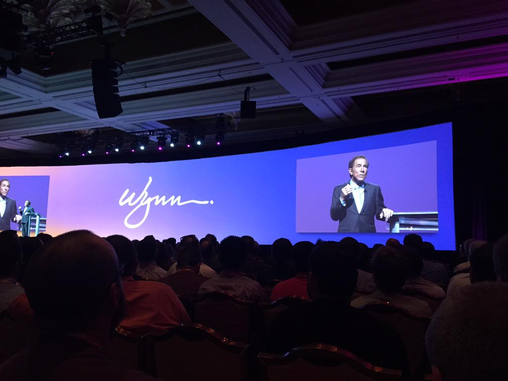 ebizmarts: People make people happy, oh yeah Mr. Wynn, that's utterly right! #ImagineCommerce http://t.co/gp6VTr2xig