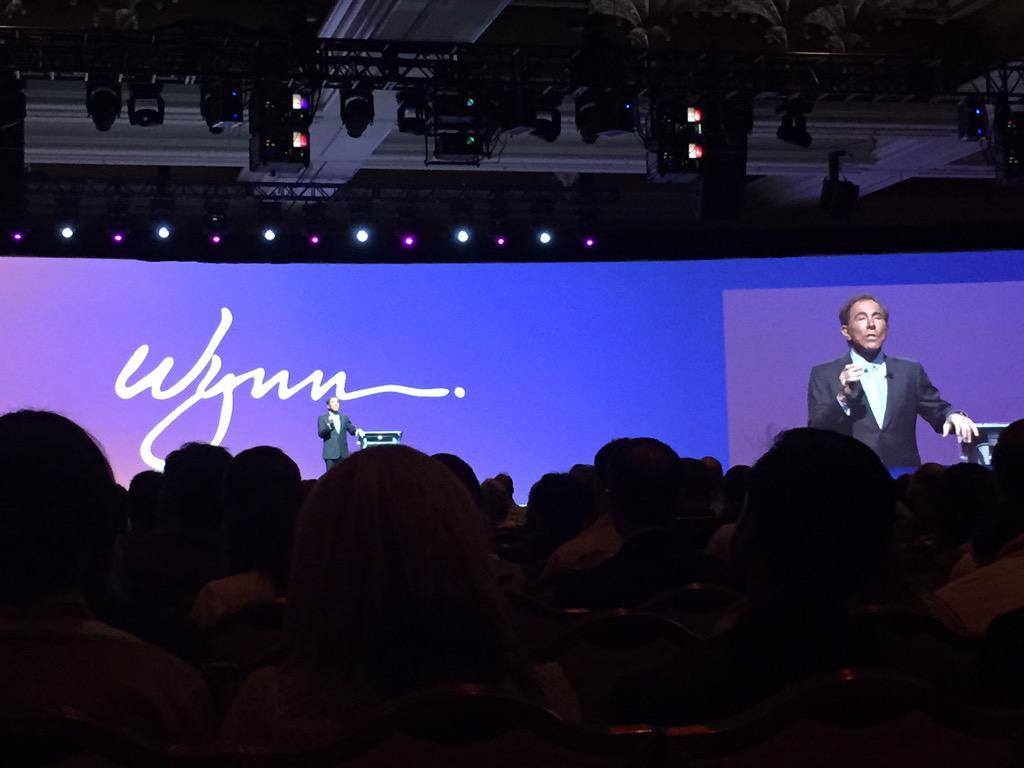JoanFeu: Getting right the simple truth with Steve Wynn at #ImagineCommerce http://t.co/SlIUAflJkr
