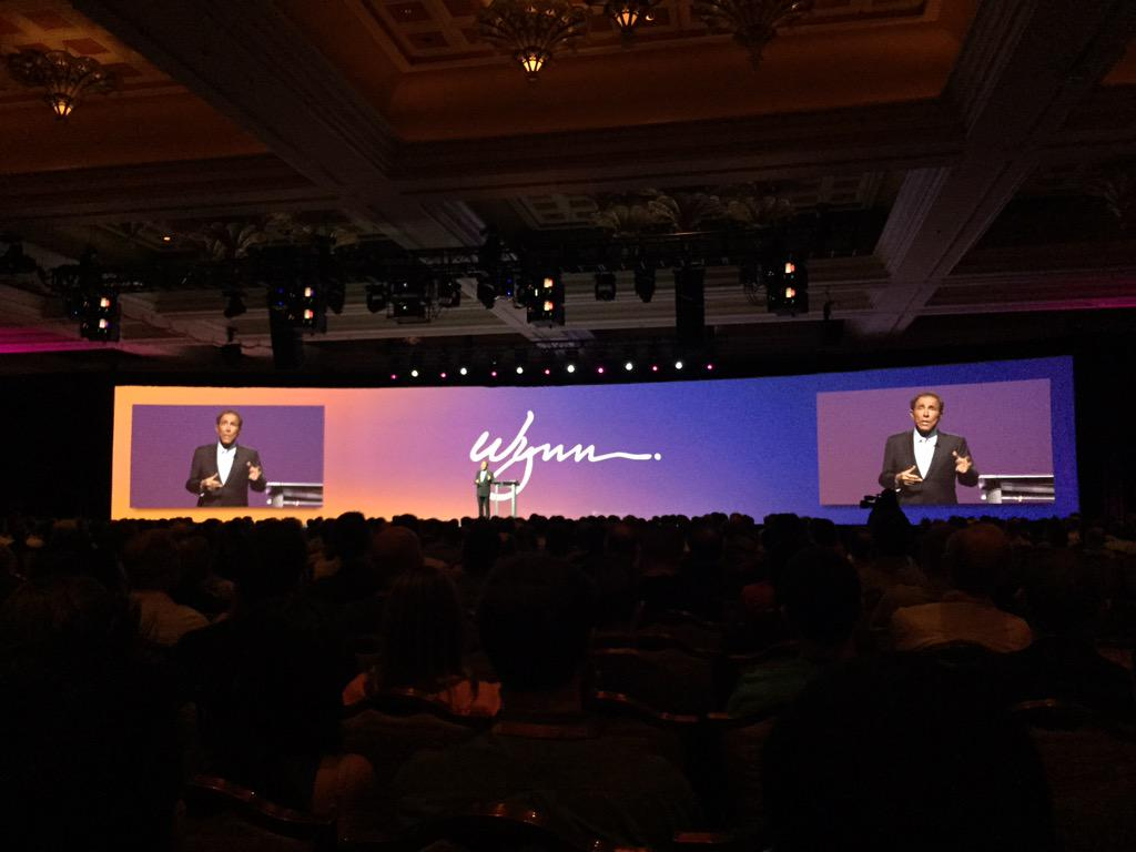 Adomatica: Steve @WynnLasVegas giving great keynote at @magento #ImagineCommerce http://t.co/lmDMH2AQOf