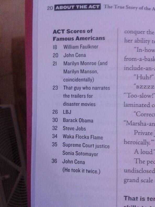 & Waka scored higher on the ACT than Obama; one point lower than SC Justice Sotomayor. #WakaForPresident http://t.co/sgy7gg78Js