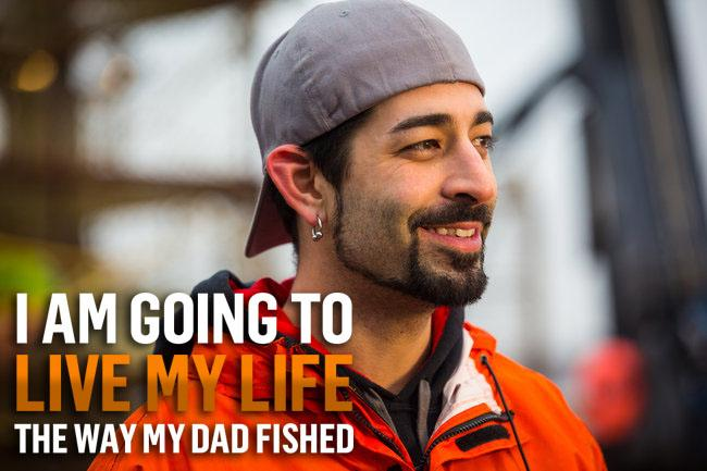 A father's legacy, a son's triumph. RT if you're watching Legend of the #CorneliaMarie now! http://t.co/qtqeHhOgA4