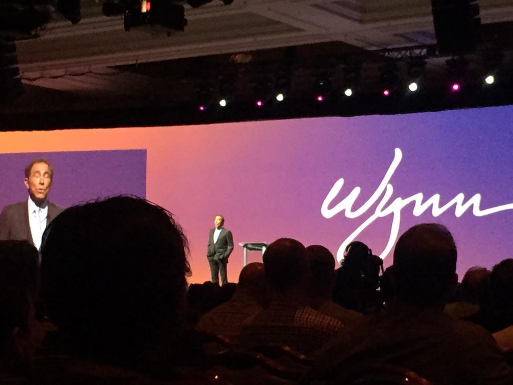 AlexKudelka: This man is brilliant. Great keynote speaker @WynnLasVegas! #imagine2015 http://t.co/VUq4jyF4Gi