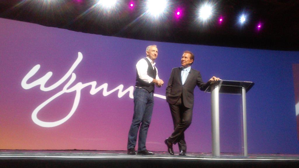 mauricio_laja: #Imaginecommerce Mr. Steve Wynn with EBay President http://t.co/otPAscIKqn