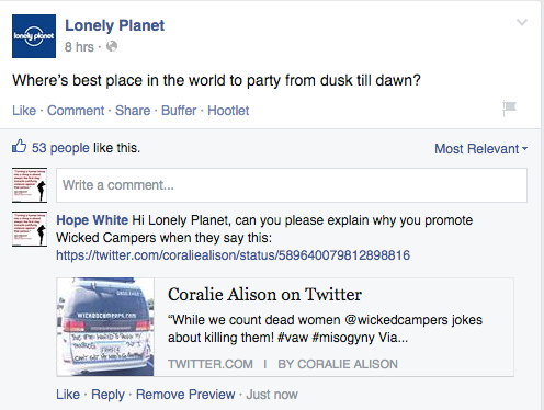 Thumbnail for Lonely Planet removes Wicked Campers listing from travel guide
