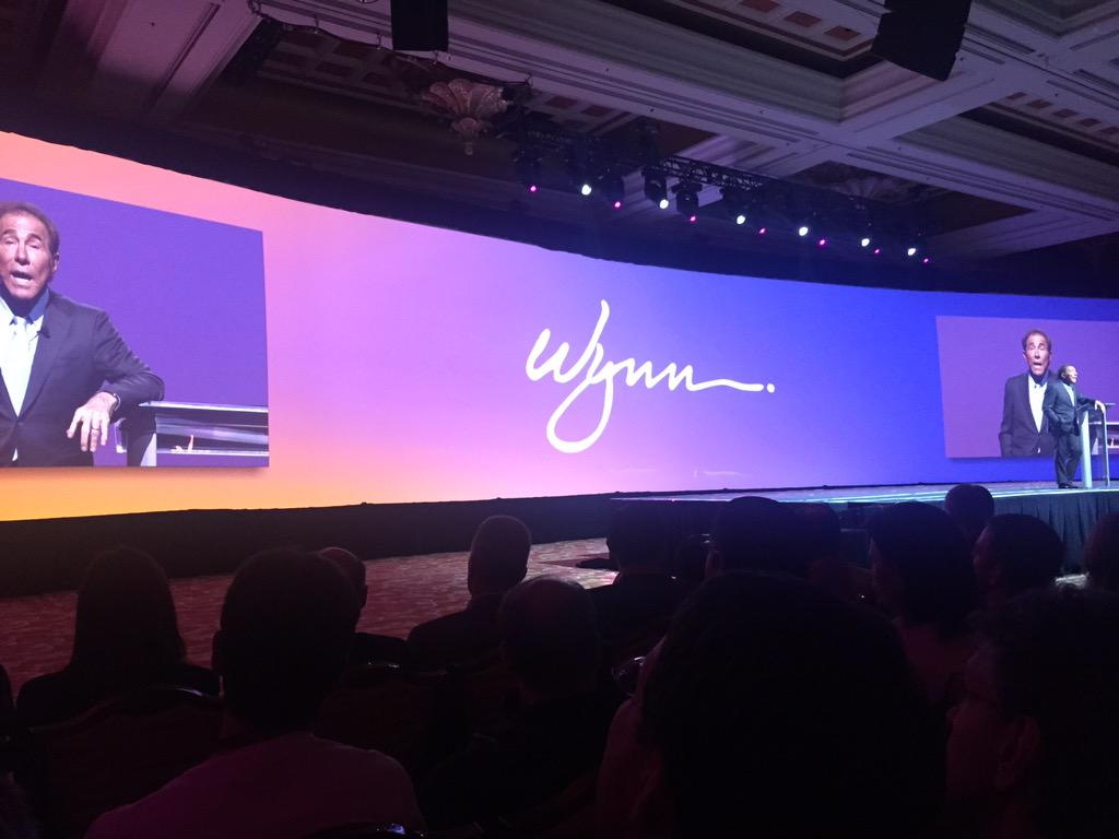 yairspitzer: Incredible speech by Steve Wynn #MagentoImagine - what a lovely, genuine and clever person. Truly inspirational! http://t.co/jjKrPJpGwo