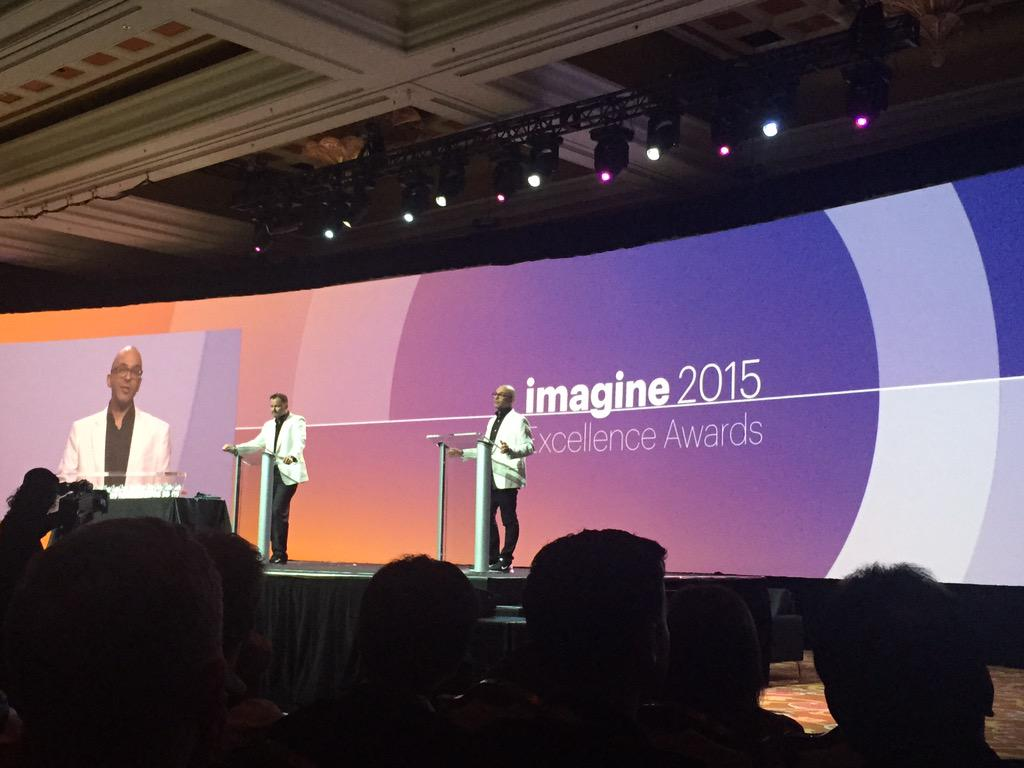 gelizabeths: Time for the excellence awards! #ImagineCommerce http://t.co/4WkjTlGJgW