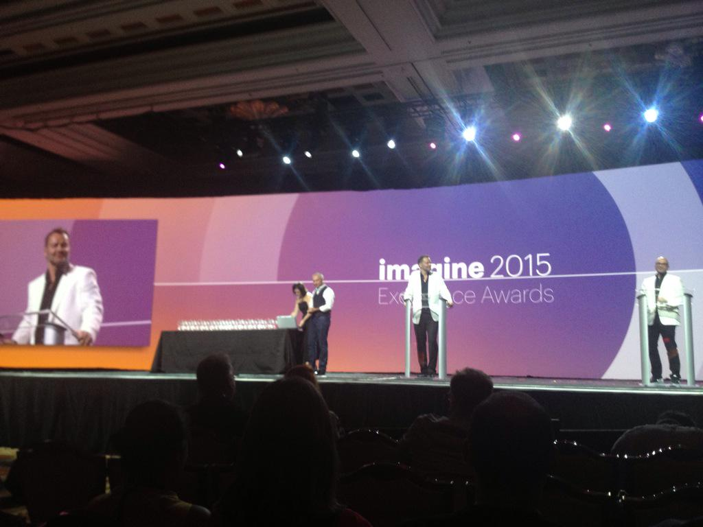 MagentoFeedle: Excellence awards ceremony at #ImagineCommerce http://t.co/j8qt7eOnCF via inchoo