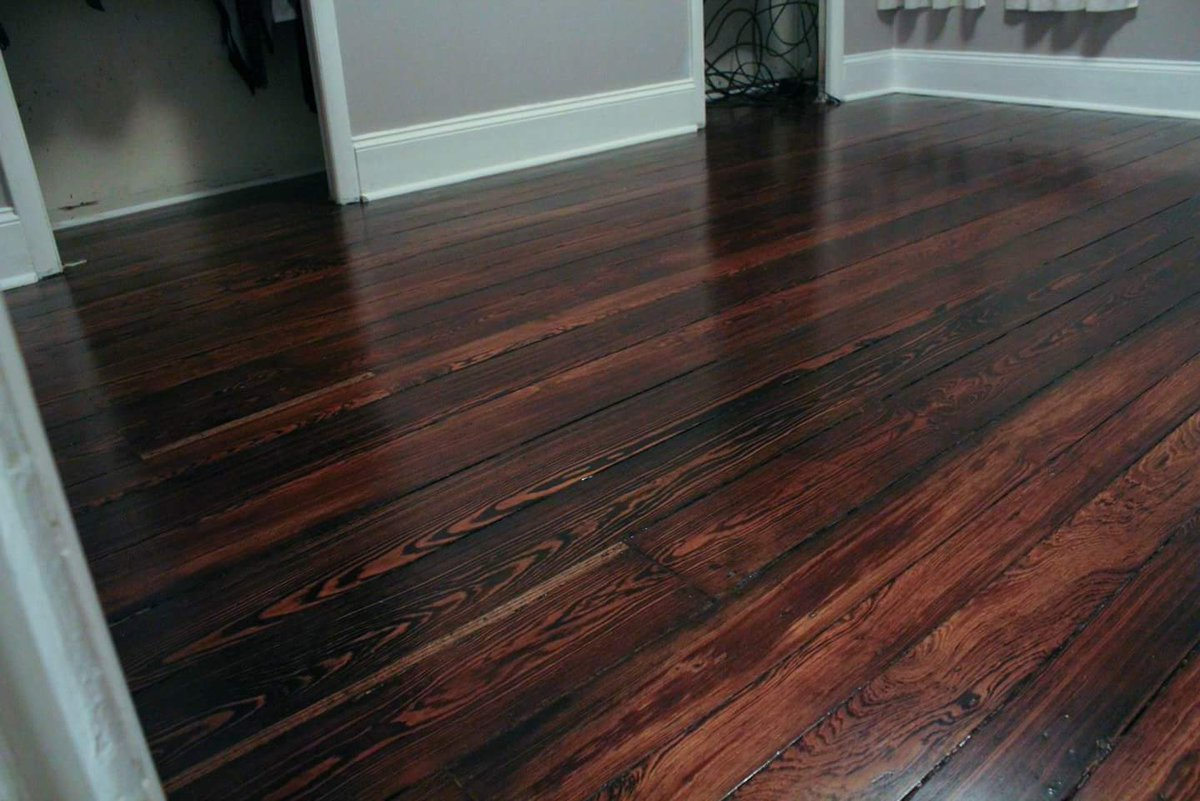 Rob On Twitter Quot Hardwood Floor Restoration Before And
