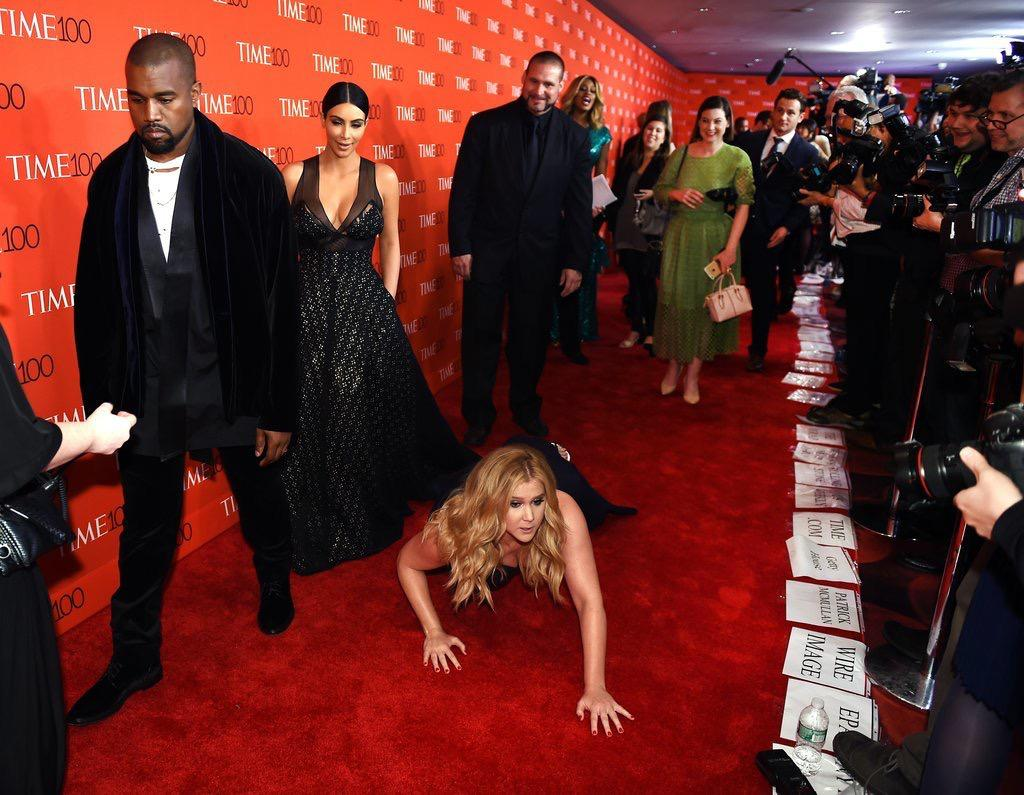 The Prank Amy Schumer Just Pulled on Kim Kardashian and Kanye West Will Make You Love Her Even More