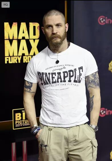 "Tom Hardy on Twitter: ""#CinemaCon #tomhardy #pineapple ..."