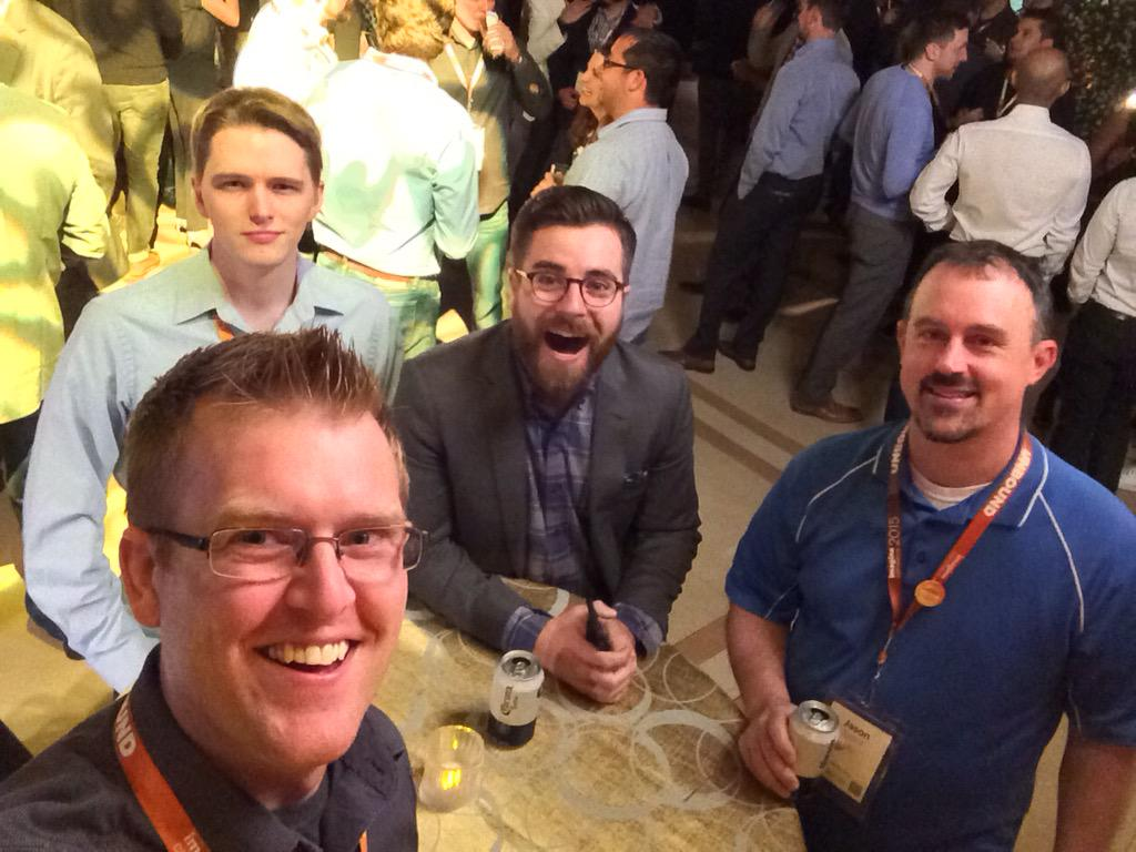 benjaminrobie: #deglife at #ImagineCommerce http://t.co/CswW3D5n4e