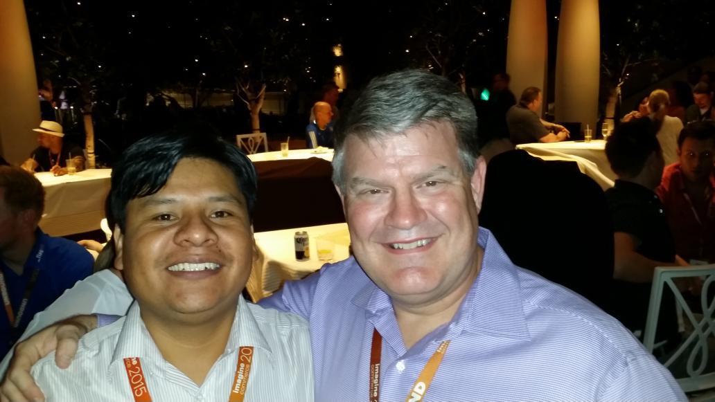 wagento: #ImagineCommerce Texas meets Bolivia @brentwpeterson  @deborahtilghman http://t.co/DbUQLnyWc9
