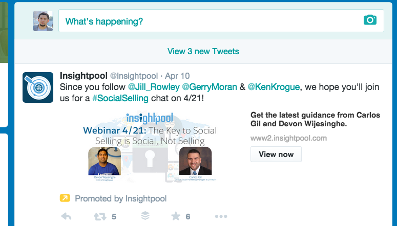 Great example of smart marketing by @Insightpool @hmbyers http://t.co/poUfOcvmqc