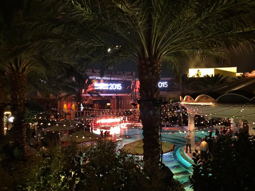 josheason: #VIP terrace at #ImagineCommerce 2015  Magentoganza Night #2 #magento http://t.co/lFRamYbgXp