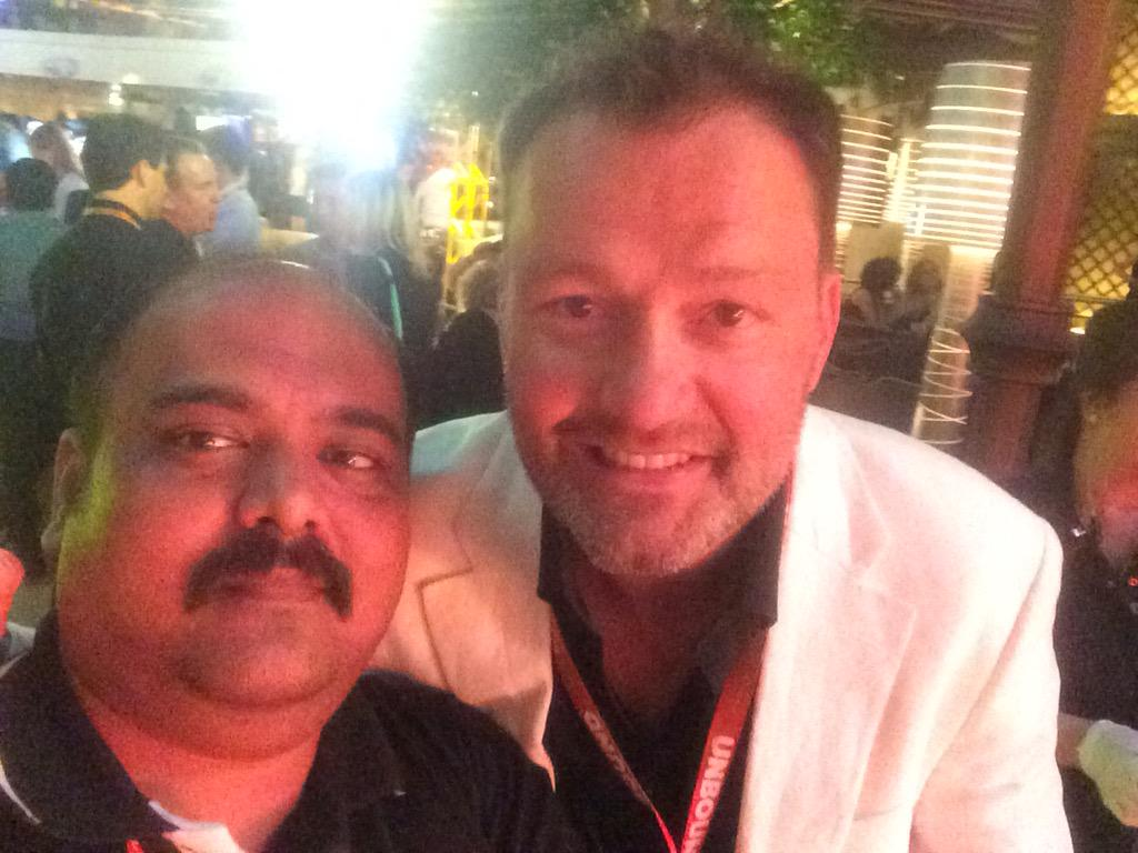 kandarp: @JC_Climbs kudos for dance (living the life on legendary party at Wynn.love you #ImagineCommerce #magento @ZealousWeb http://t.co/kfT8dU3ljn