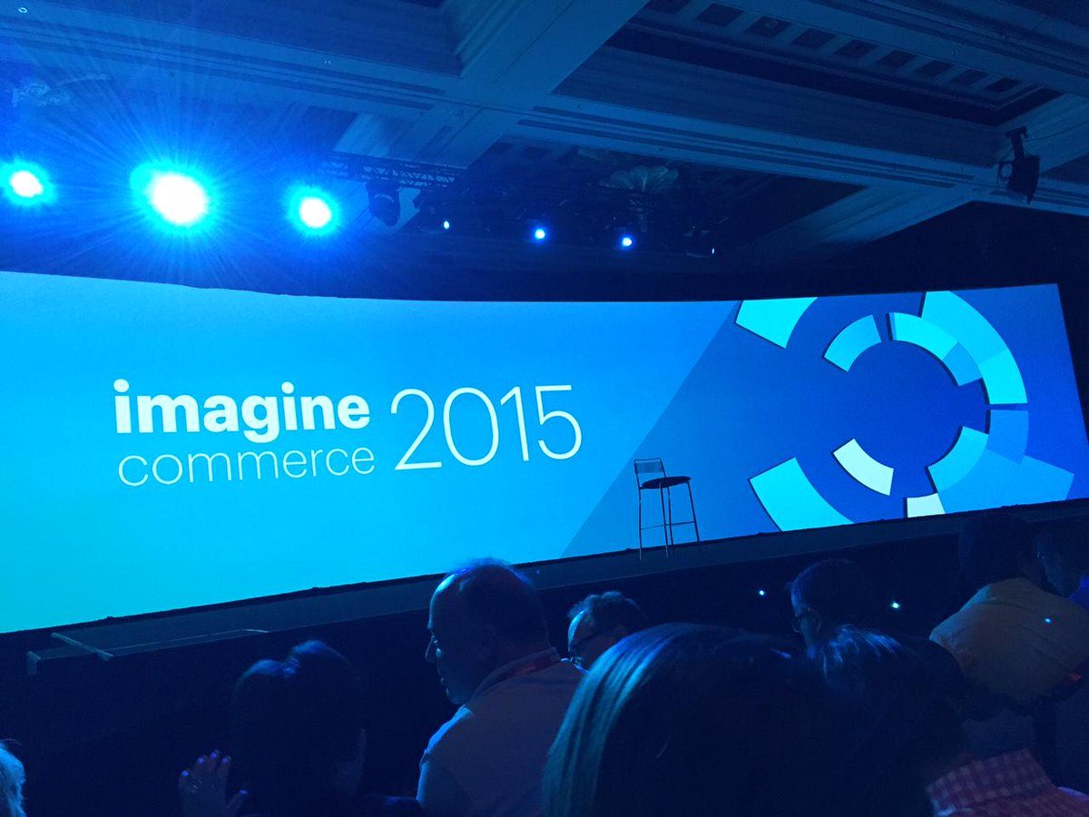 iwebtweets: Just before the keynote starts in a packed out hall for #ImagineCommerce. http://t.co/SE7ZvlNC9v