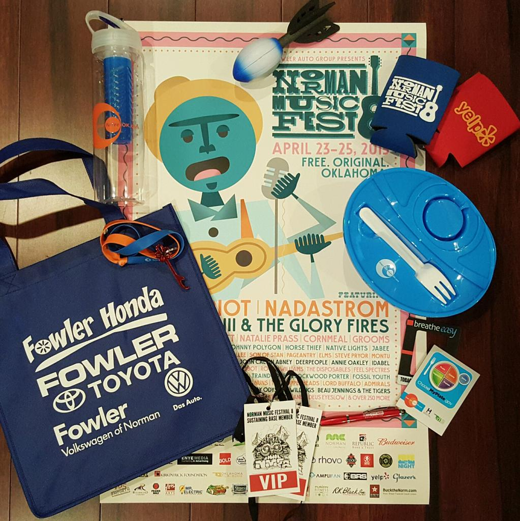 Want all this stuff?! Follow, RT and tell us who you're most excited to see at #NMF8! Contest ends 10 PM! VIP, guys! http://t.co/nSjyRG6Cr8